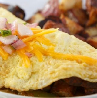 Cream Sausage Omelet