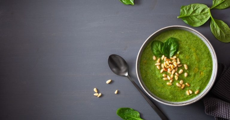 Spinach Cauliflower Soup