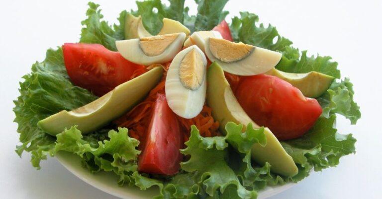 Avocado Egg Salad On Lettuce