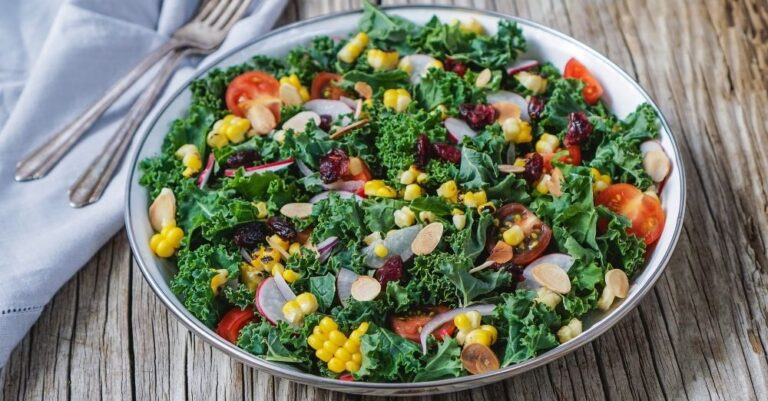 Chopped Kale Salad With Bacon