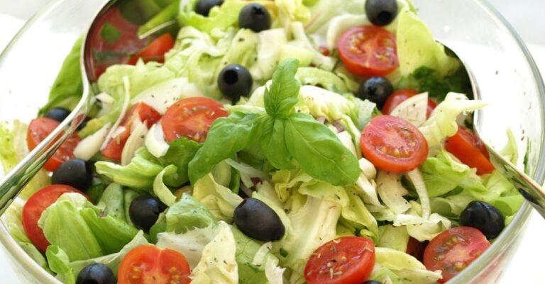 Chopped Lettuce Salad