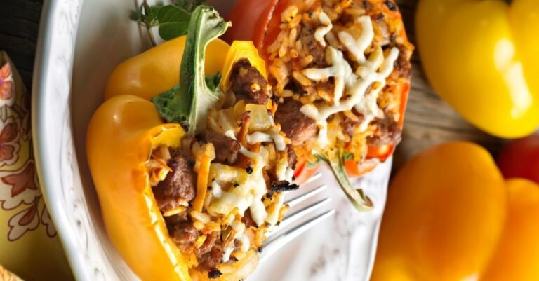 Sausage Stuffed Bell Peppers