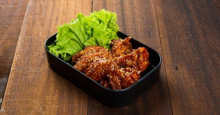 Sesame Wings with Cauliflower