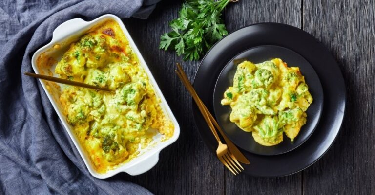 White Cheddar Broccoli Chicken Casserole