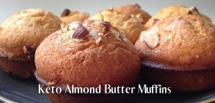 Almond Butter Muffins (Keto & Low Carb)