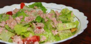 Tuna Lettuce Salad